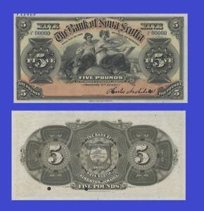 JAMAICA 5 POUNDS 1920 UNC - Reproduction
