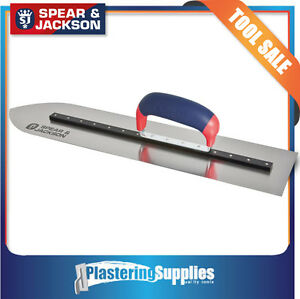 Spear & Jackson 500mm Pointed Trowel Cement Concrete Finishing Float SJ-PF500