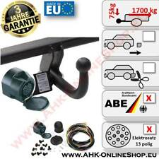 AHK + E-Satz 7 polig Peugeot 406 Bj. 1996-2004 Kombi Anhängerkupplung Neu AHZV