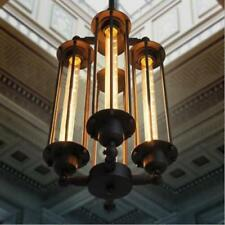 Industrial Steampunk 4-Light Chandeliers Loft Office Home Lighting Ceiling Lamps