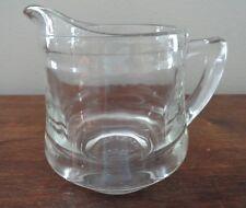KELLOGGS CORRECT CEREAL CREAMER  Glass Cream Pitcher