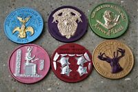 LOT OF 50 ASSORTED DUAL COLORED NEW ORLEANS MARDI GRAS PARADE DOUBLOONS