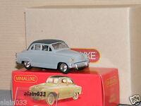 Simca Aronde dinky car designed by Minialuxe France 1/43è Ref 22_3