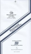 Showgard Stamp Mount Strips For Miniature Sheets 120mm Black 1 Pack Free Post