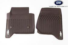 15-17 Chevrolet Tahoe Suburban Premium All Weather Front Mats 23452759 Cocoa OE
