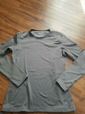 Under Armour Cold Gear Long Sleeve Shirt Mens Size Xlarge Gray Excellent.