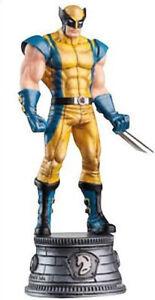 Eaglemoss Marvel Chess Wolverine Figurine - #003 White Knight