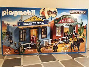 Playmobil 70012 Bank Sheriff's Office