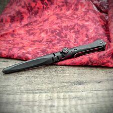 TriTac EDC Tactical Pen - Carbide Window Breaker, Folding Knife & Fisher Ink