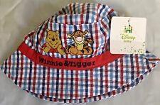 Baby Girls Disney Winnie the Pooh EEYORE Pink Summer Sun Hat Newborn-24 Months