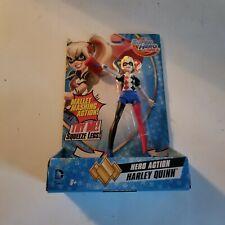 Harley Quinn DC Comics Super Hero Girls Action Figure, Mallet Mashing Doll, New