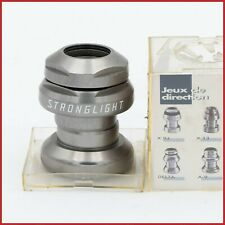 NOS STRONGLIGHT X17 HEADSET 1+1/8 INCH VINTAGE 90S THREADED EC34 ROLLER BEARINGS
