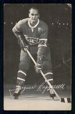 1968-69  MONTREAL CANADIENS POSTCARDS   JACQUES LAPERRIERE   INV  J9404