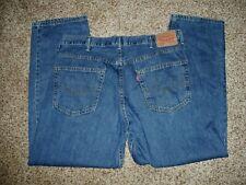 Levi's 550 Men Jeans 38 X 30 actual 100% Cotton Blue L-51
