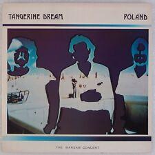 TANGERINE DREAM: Poland, Warsaw Concert JIVE ELECTRO UK 2x LP NM