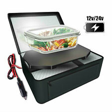 Portable Mini Oven Electric Heating Lunch Box Storage Bag for 24V/12V Truck Car