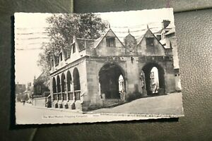 THE WOOL MARKET CHIPPING CAMPDEN PN3854 POSTED 1962 REAL PHOTO