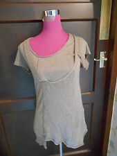 Amazing All Saints Mainey Tee Top Size 12 Excellent condition