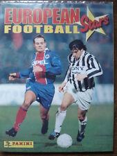 PANINI EMPTY ALBUM + ALL 120 STICKERS OF EUROPEAN FOOTBALL STARS 1997
