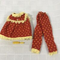 Barbie Skipper Clothes Set Wooly PJs 1965 Vintage Mattel