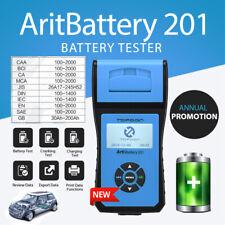 12V/24V Battery Analyzer Tester Cranking Charging CCA HD Comerical Car TOPDON US