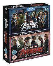 Avengers Assemble & Age of Ultron Blu-ray Double Pack Films 1 & 2 8717418468590
