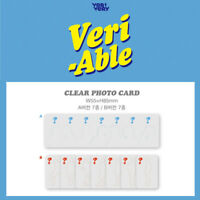 VERIVERY - 2ND MINI ALBUM VERI-ABLE CLEAR PHOTO CARD