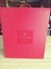 L👀K Remy Martin Louis XIII Cognac Baccarat Crystal Decanter Display Box. EMPTY