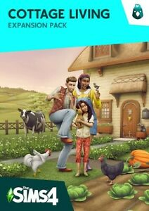 ✔NEW The Sims 4 COTTAGE LIVING Expansion Pack (PC Windows/ MAC) physical delivry