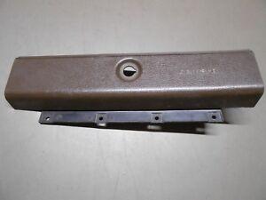 81 1981 Camaro DARKER BROWN Glove Box Door With Bracket And Attached Liner