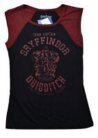 Harry Potter Juniors Gryffindor Quidditch Team Captain Shirt New M, L