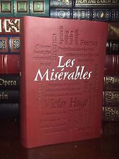 Les Miserables by Victor Hugo Unabridged New Textured Leather Feel Collectible