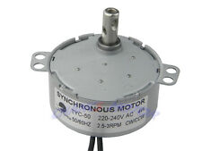 ROBUST TYC-50 AC SYNCHRONOUS MOTOR 220V AC 2.5/3RPM CW/CCW Torque 8kg 4W 50/60HZ