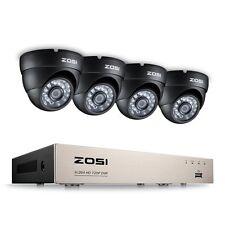 ZOSI 720P 8CH DVR 1500TVL Caméra Extérieure IR Système de Surveillance CCTV