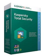 Kaspersky Total Security 2018 (1, 2, 3, 5 oder 10 Geräte) 1 oder 2 Jahre