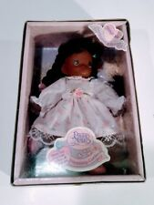 "Vintage 1992 Precious Moments Girl Doll African American Plush 8"" Shayhala"