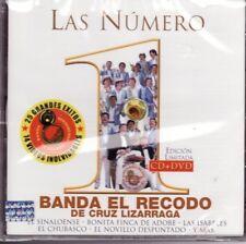 Banda El Recodo de Don Cruz Lizaraga Las Numero 1 2CD New