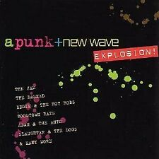 A PUNK + NEW WAVE EXPLOSION  CD