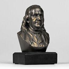 BEN FRANKLIN Bust Statue Historical Sculpture FOUNDING FATHER