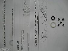 Smith & Wesson 78G 79G Pistol - Seal Kit + Exploded View + Parts List + Guide