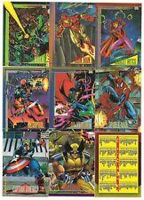 1993 Marvel Universe Complete Set Series 4 ( 180 cards)     NICE!!!!