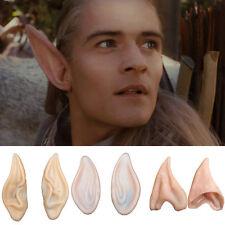 Halloween Costume Elf Fairy Ear Tips Hobbit Vulcan Spock Alien Cosplay Tool