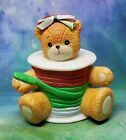 Enesco Lucy and Me Lucy Rigg Bear as Christmas ribbon