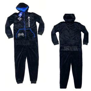 PLAYSTATION Gaming Men's all in one soft one suit Pyjama nightwear sleepsuit Pjs