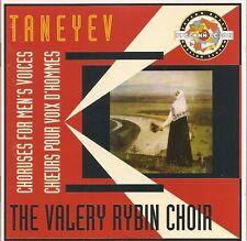 Taneiev - Choruses for Men's Voices / The Valery Rybin Male Choir