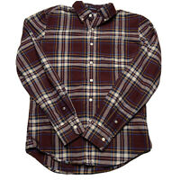 American Eagle Men's Size XS Plaid Button Long Sleeve Flannel Seriously Soft