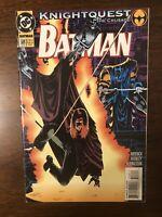 Batman #508 DC Comics 1994 Knightquest The Crusade. Mortal Remains