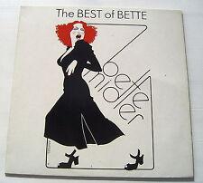 BETTE MIDLER .......... THE BEST OF BETTE ........   LP
