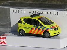 Busch Mercedes ambulance kop van noordholland    1/87