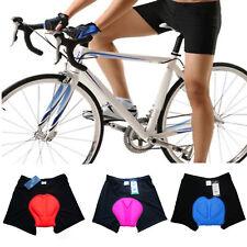 Men Women Cycling Underwear Gel 3D Padded Bike Bicycle Riding Sport Shorts Pants